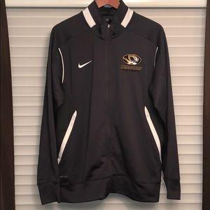 Missouri Tigers Softball Full-Zip Track Jacket